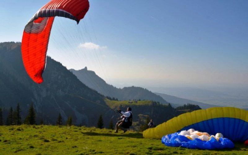 Paragliding in Bogor