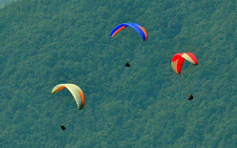 Paragliding Palu Sulawesi