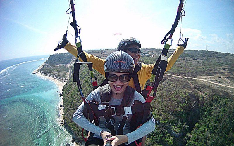 Paragliding Malang