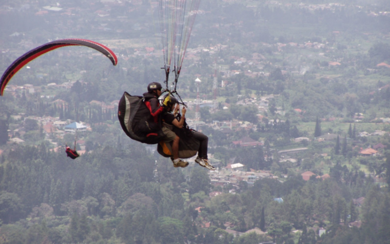 Paragliding Batu Malang