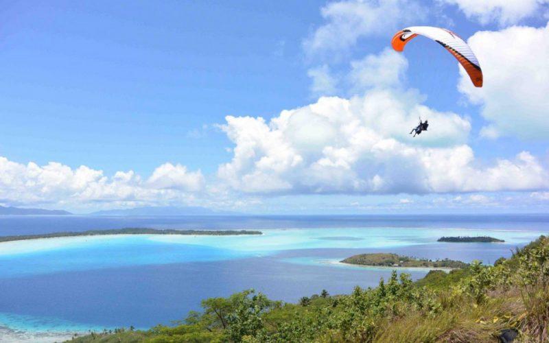 Paragliding Timbis Beach