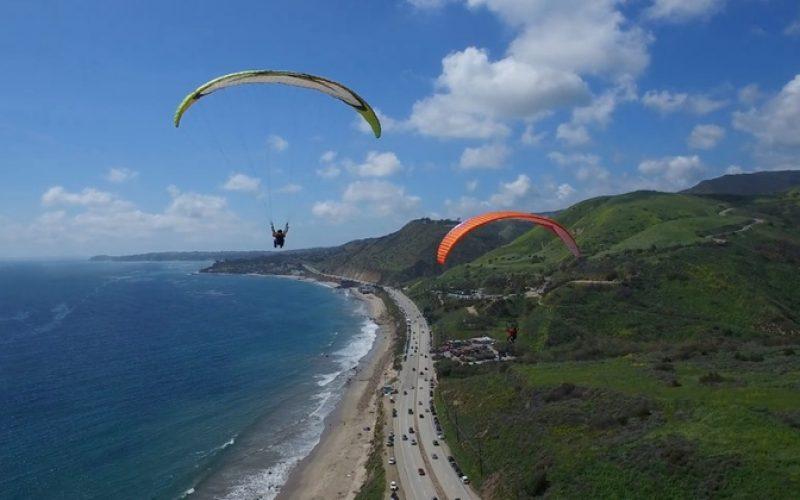 Paragliding Pandawa Beach