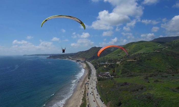 Harga Tiket Paragliding Pandawa Beach