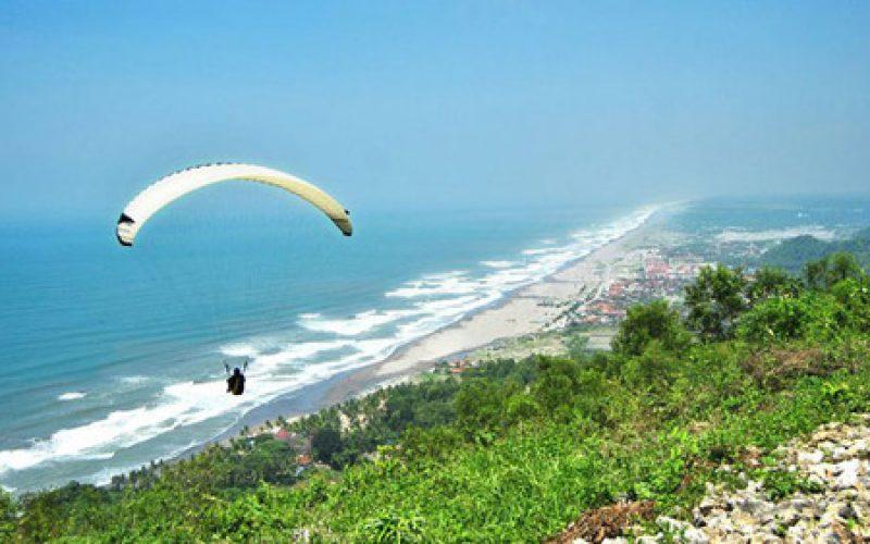 Paragliding Timbis Bali